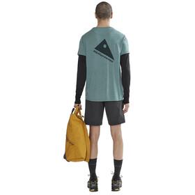 Klättermusen Eir Rain Kurzarm T-Shirt Herren brush green